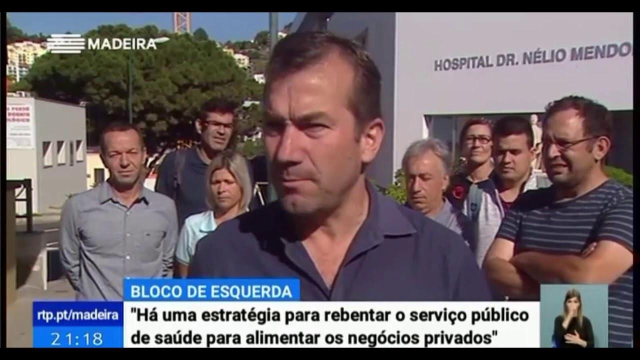"""Paulino A. - """"Há uma estratégia de rebentar o serviço público de saúde para alimentar os privados"""""""