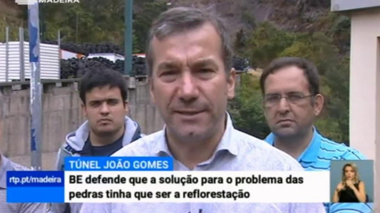 BE defende que solução para o problema das pedras na Rib. de João Gomes tem de ser a reflorestação