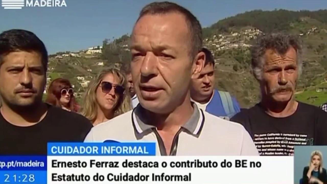 BE foi o único a prever o Estatuto do Cuidador | Telejornal RTP Madeira
